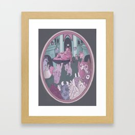 Monster Hierarchy Framed Art Print