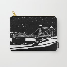 Riegelsville Roebling Bridge Carry-All Pouch