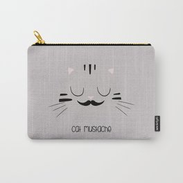 cat mustache Carry-All Pouch