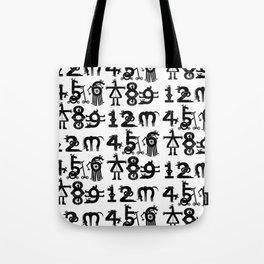 Counting Unicorns Tote Bag