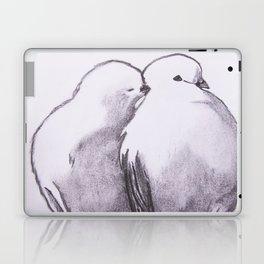 love birds Laptop & iPad Skin