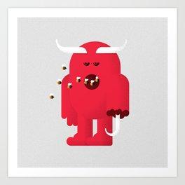 Candyman / Devil Art Print