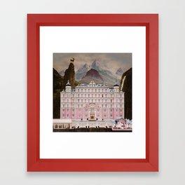The Grand Budapest Framed Art Print