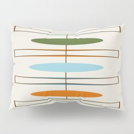 Mid-Century Modern Art 1.2 Pillow Sham