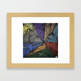 Collapse Framed Art Print
