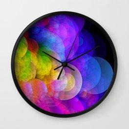 abstract wave Wall Clock