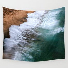 Pritty Waves Wall Tapestry