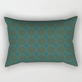 Forest Diamonds 2 Rectangular Pillow