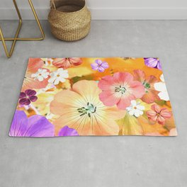 The fairy will come out soon 2 #flower #combination Rug