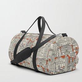 Hong Kong toile de jouy Duffle Bag