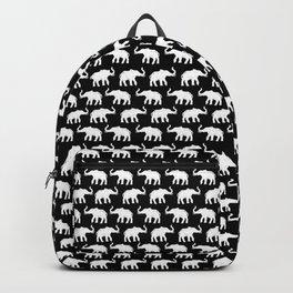 Elephants on Parade Black Backpack