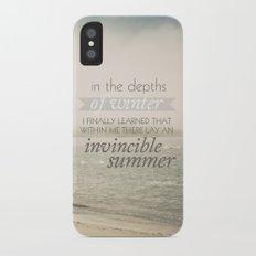 Invincible Summer iPhone X Slim Case