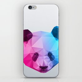 Polygon Panda Bear iPhone Skin