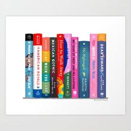 Bookstack No. 26 Art Print