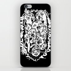 Monster Friends iPhone & iPod Skin