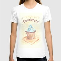 chocolate T-shirts featuring Chocolate by YeesArts