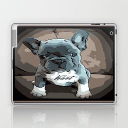 Swiss Velvet portrait Laptop & iPad Skin