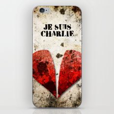 Je suis Charlie Graphic iPhone & iPod Skin