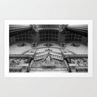 The Temple Art Print