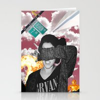 nirvana Stationery Cards featuring Personal Nirvana by LittleCarmine