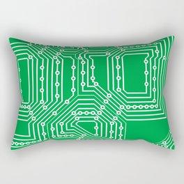 Computer board pattern Rectangular Pillow