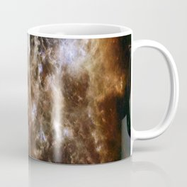 brown white Coffee Mug