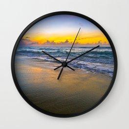 Sunset Smooth Wall Clock