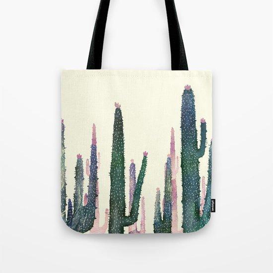 cactus water color Tote Bag