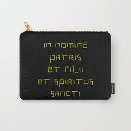 In nomine patris et filii et spiritus sancti 2 Carry-All Pouch