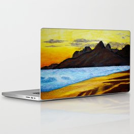 Sunset Beach Laptop & iPad Skin