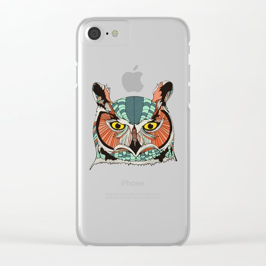 OWLBERT Clear iPhone Case