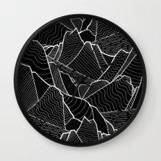 The dark islands Wall Clock