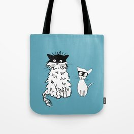 Ninja cats Tote Bag