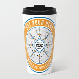 Use Your Head Travel Mug