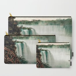 Horseshoe Falls of Niagara - View from Goat Island Carry-All Pouch