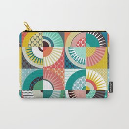 llama geo squares Carry-All Pouch