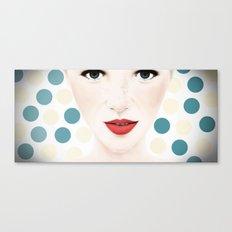 DOT BY DOT Canvas Print