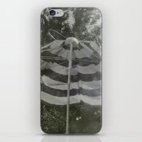 umbrella iPhone & iPod Skins featuring Umbrella by Anja Hebrank
