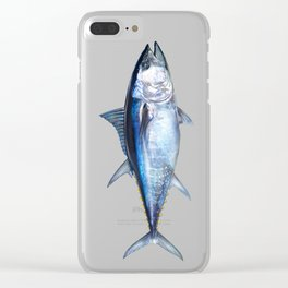 Bluefin Tuna Clear iPhone Case
