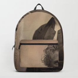 Albert Sands Southworth and Josiah Johnson Hawes - Portrait of Rollin Heber Neal (1850s) Backpack
