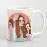 lana Mugs featuring Lana by Clementine Petrova