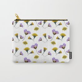 Pressed flowers Carry-All Pouch