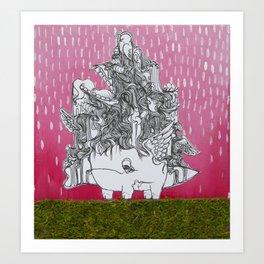 Bernard Art Print