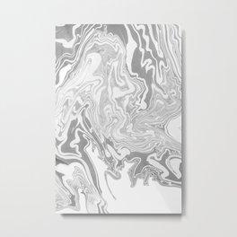 Smoky mirror Metal Print