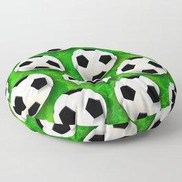 Soccer Ball Football Pattern Floor Pillow
