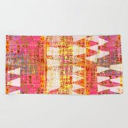 Bright intermeZZo Beach Towel