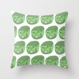 FMC Portrait Pattern Throw Pillow