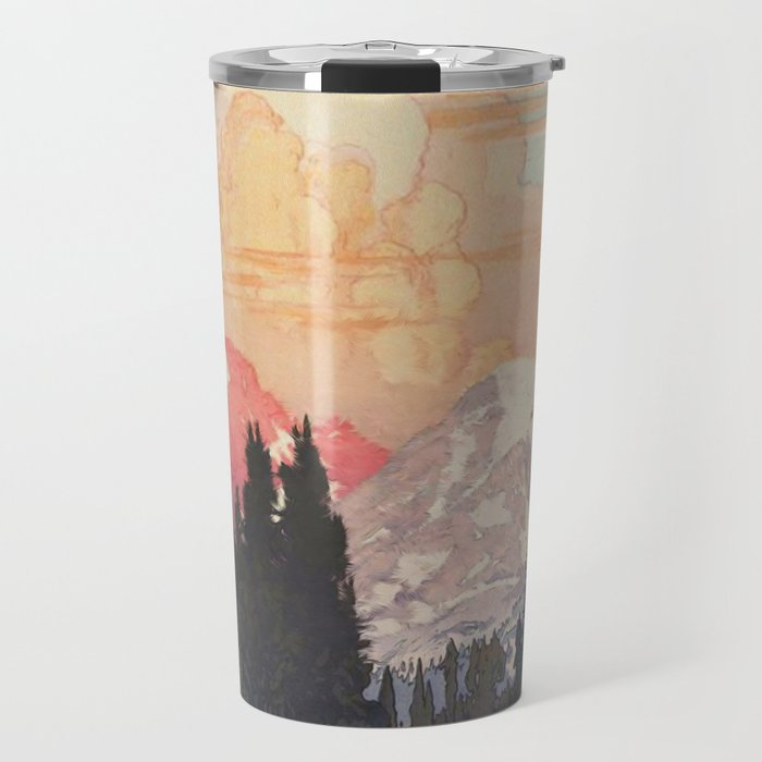 Storms over Keiisino Travel Mug
