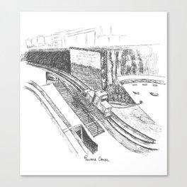 Panama Canal  Canvas Print