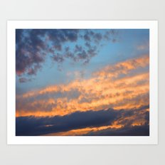 Berkshires Sunset III Art Print